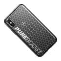 Фитнес кейс Baseus Sport Pure Boost за iPhone XS, Черен, Baseus
