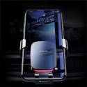 Baseus поставка/стойка за телефон в кола Metal Age, Универсална, Черна с червено