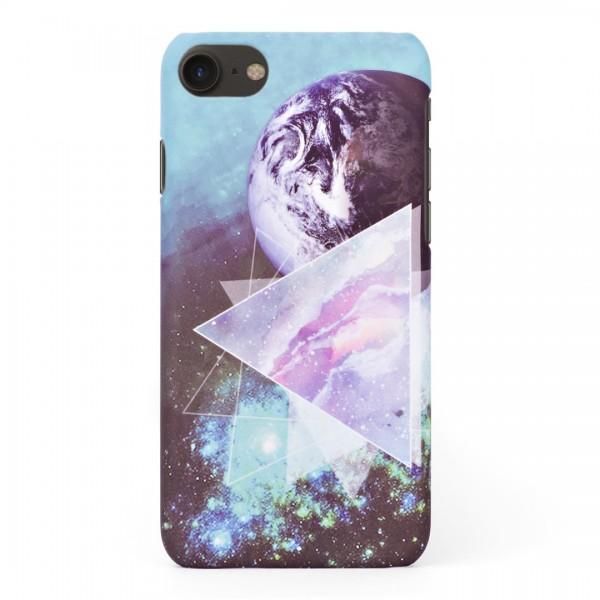 Луксозен твърд кейс/калъф в дизайн Galaxy за iPhone 8, Case