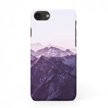 Tвърд кейс/калъф в дизайн Mountan Range за iPhone 8, Case, Уникален Дизайн