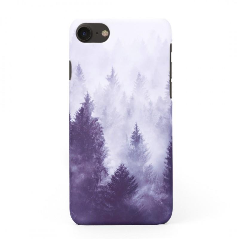 Твърд кейс/калъф в дизайн Foggy Forest за iPhone 8, Case, Уникален Дизайн