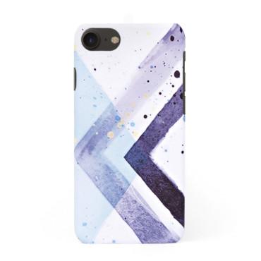 Твърд кейс/калъф в дизайн Colorful Triangles за iPhone 8, Case, Уникален Дизайн