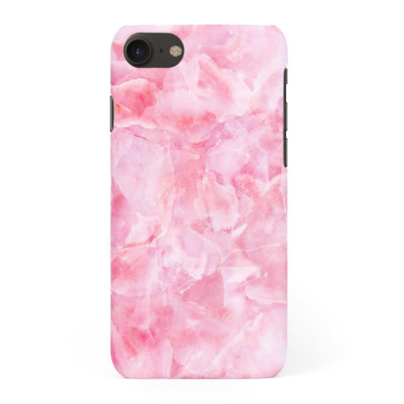 Твърд кейс/калъф в дизайн Pink Marble за iPhone 8, Case, Уникален Дизайн