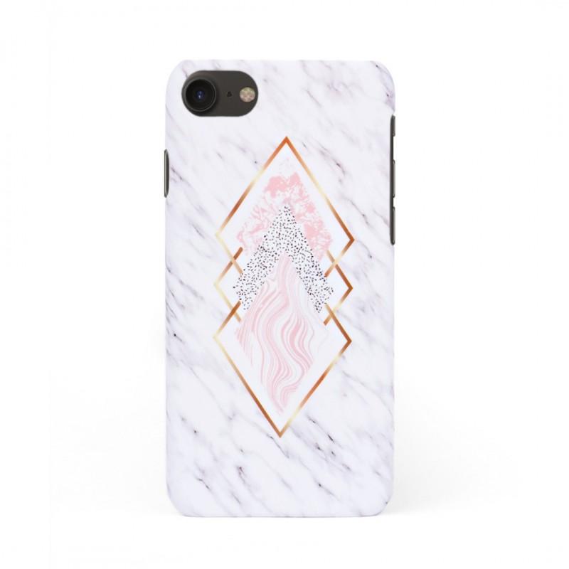 Твърд кейс/калъф в дизайн Golden Rhomboids за iPhone 8, Case, Уникален Дизайн