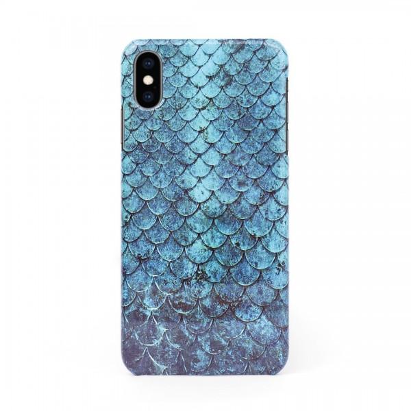 3D твърд кейс/калъф в дизайн Blue Mermaid за iPhone XS Max, 3D гел покритие, Case