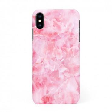 Твърд кейс/калъф в дизайн Pink Marble за iPhone XS, Case, Уникален Дизайн