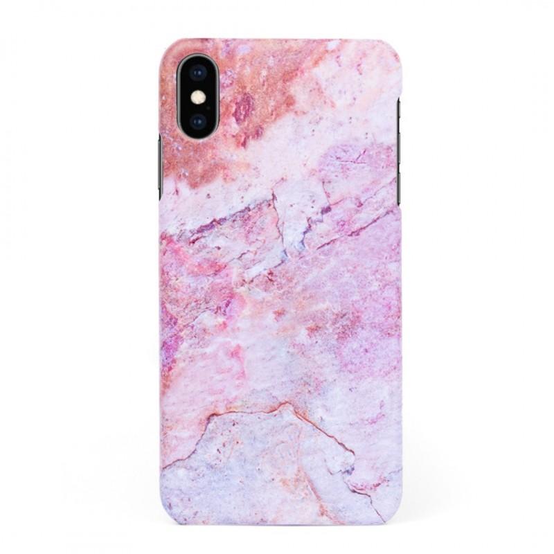 Кейс/калъф в дизайн Colorful Marble за iPhone XS, Твърд, Case, Уникален дизайн