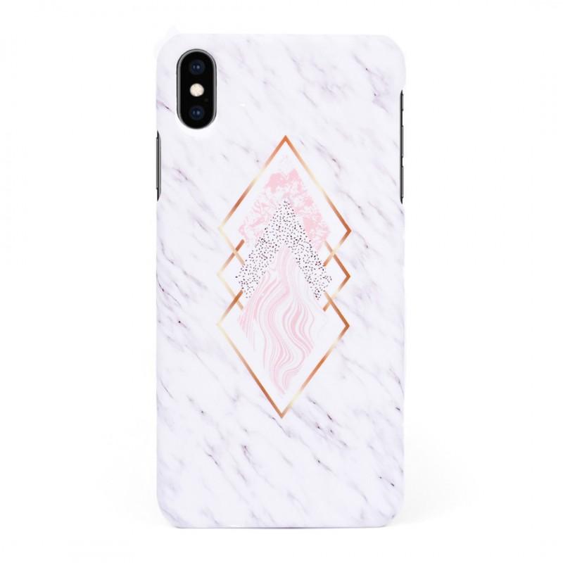 Твърд кейс/калъф в дизайн Golden Rhomboids за iPhone XS, Case, Уникален Дизайн