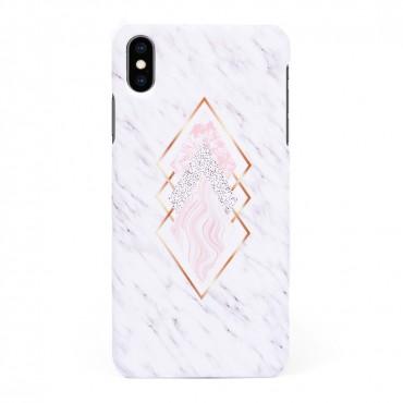 Твърд кейс/калъф в дизайн Golden Rhomboids за iPhone XS Max, Case, Уникален Дизайн