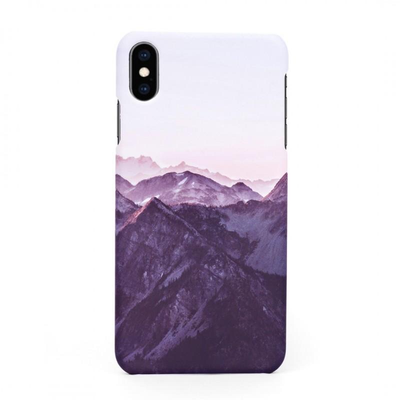 Tвърд кейс/калъф в дизайн Mountan Range за iPhone XS Max, Case, Уникален Дизайн