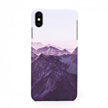 Tвърд кейс/калъф в дизайн Mountan Range за iPhone X, Case, Уникален Дизайн