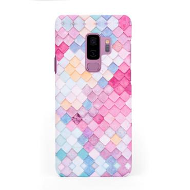Твърд кейс/калъф в дизайн Colorful Scales за Samsung Galaxy S9 Plus, Case, Уникален Дизайн