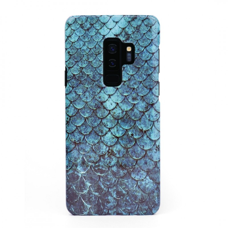 3D твърд кейс/калъф в дизайн Blue Mermaid за Samsung Galaxy S9 Plus, 3D гел покритие, Case