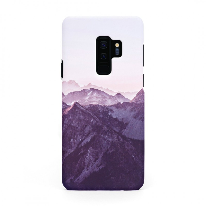 Tвърд кейс/калъф в дизайн Mountan Range за Samsung Galaxy S9 Plus, Case, Уникален Дизайн