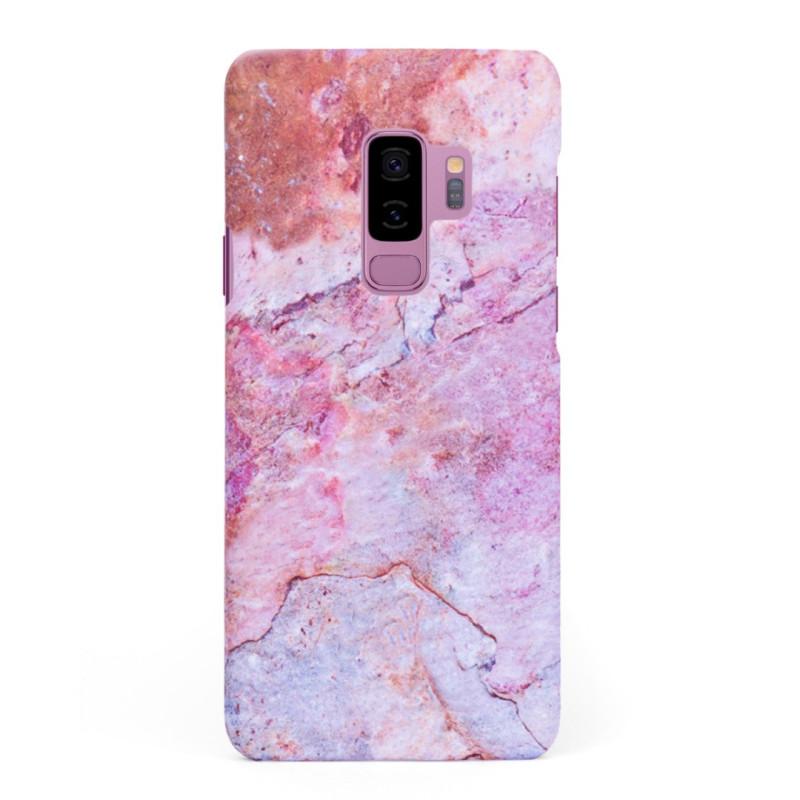 Кейс/калъф в дизайн Colorful Marble за Samsung Galaxy S9 Plus, Твърд, Case, Уникален дизайн