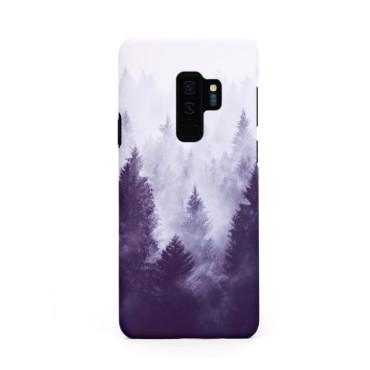 Твърд кейс/калъф в дизайн Foggy Forest за Samsung Galaxy S9 Plus, Case, Уникален Дизайн