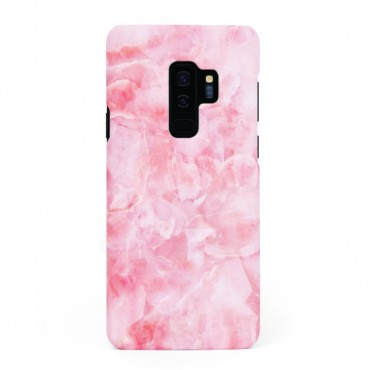 Твърд кейс/калъф в дизайн Pink Marble за Samsung Galaxy S9 Plus, Case, Уникален Дизайн