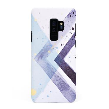 Твърд кейс/калъф в дизайн Colorful Triangles за Samsung Galaxy S9 Plus, Case, Уникален Дизайн