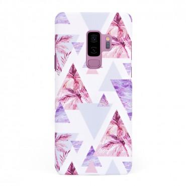 Луксозен кейс/калъф в дизайн Palm Paradise за Samsung Galaxy S9 Plus, Tвърд, Case