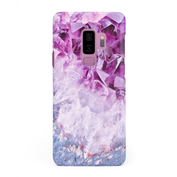 3D твърд кейс/калъф в дизайн Amethyst Diamonds за Samsung Galaxy S9 Plus, 3D гел покритие, Case