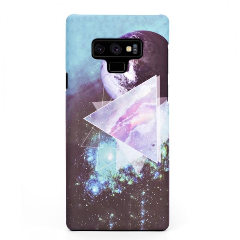 Луксозен твърд кейс/калъф в дизайн Galaxy за Samsung Galaxy Note 9, Case