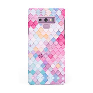 Твърд кейс/калъф в дизайн Colorful Scales за Samsung Galaxy Note 9, Case, Уникален Дизайн