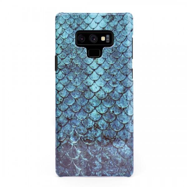 3D твърд кейс/калъф в дизайн Blue Mermaid за Samsung Galaxy Note 9, 3D гел покритие, Case
