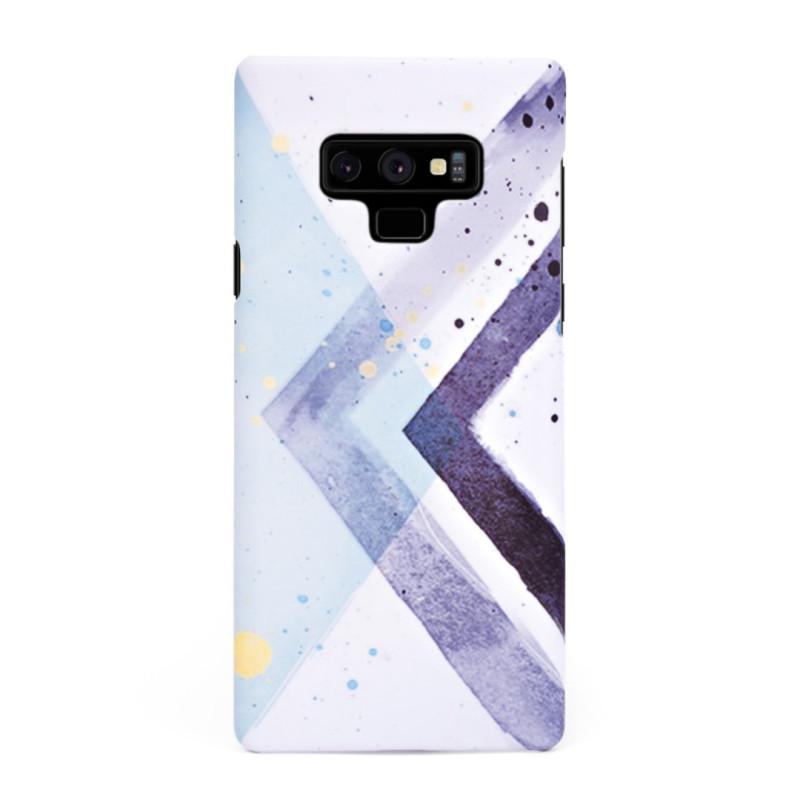 Твърд кейс/калъф в дизайн Colorful Triangles за Samsung Galaxy Note 9, Case, Уникален Дизайн
