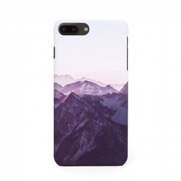 Tвърд кейс/калъф в дизайн Mountan Range за iPhone 8 Plus, Case, Уникален Дизайн