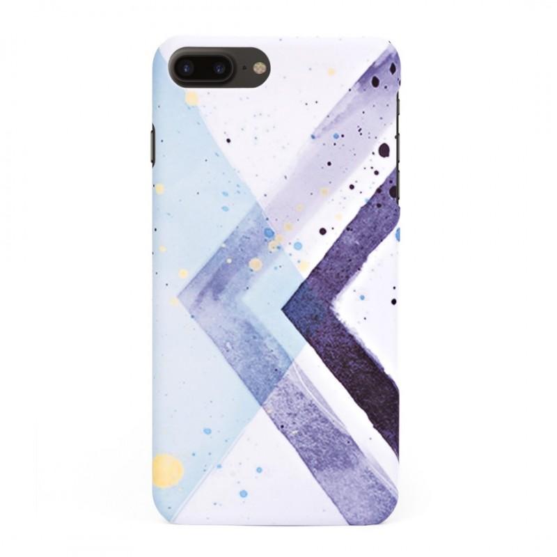 Твърд кейс/калъф в дизайн Colorful Triangles за iPhone 8 Plus, Case, Уникален Дизайн