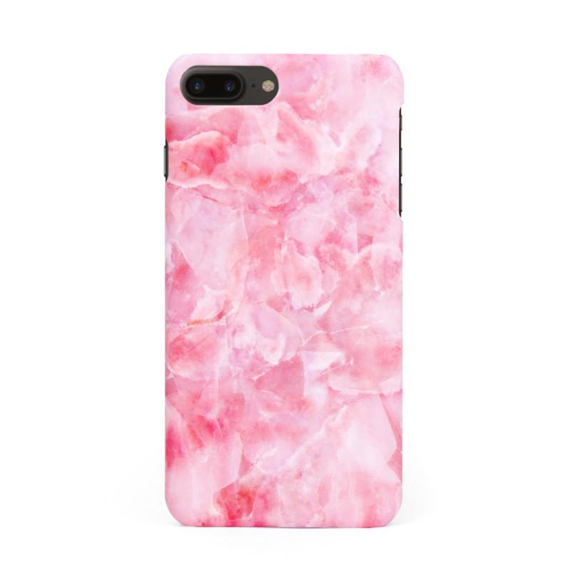 Твърд кейс/калъф в дизайн Pink Marble за iPhone 8 Plus, Case, Уникален Дизайн
