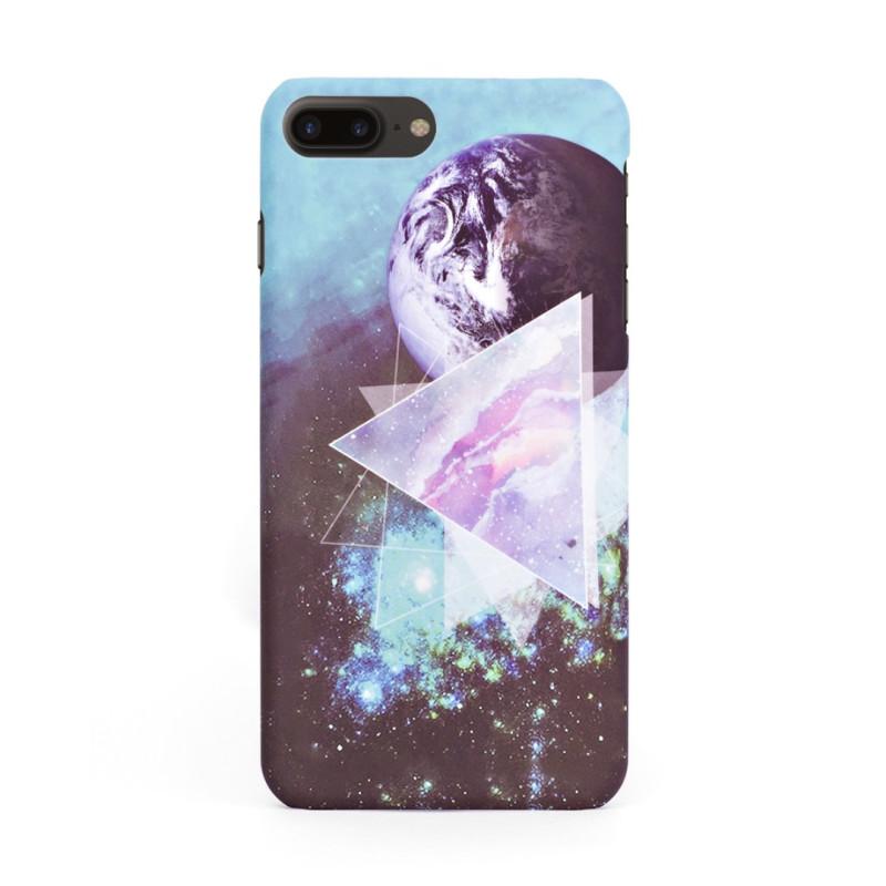 Луксозен твърд кейс/калъф в дизайн Galaxy за iPhone 8 Plus, Case