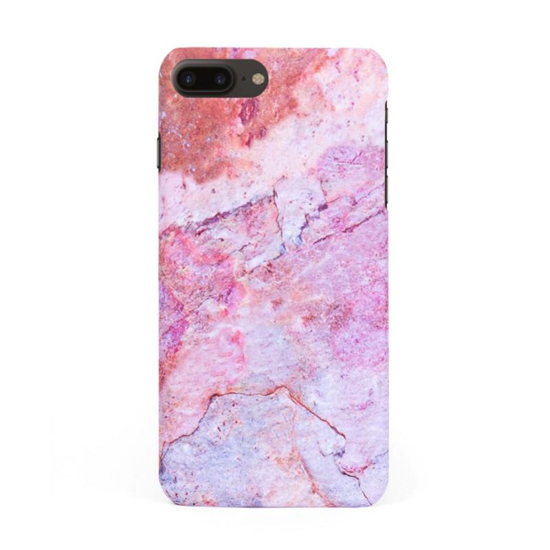 Кейс/калъф в дизайн Colorful Marble за iPhone 7 Plus, Твърд, Case, Уникален дизайн