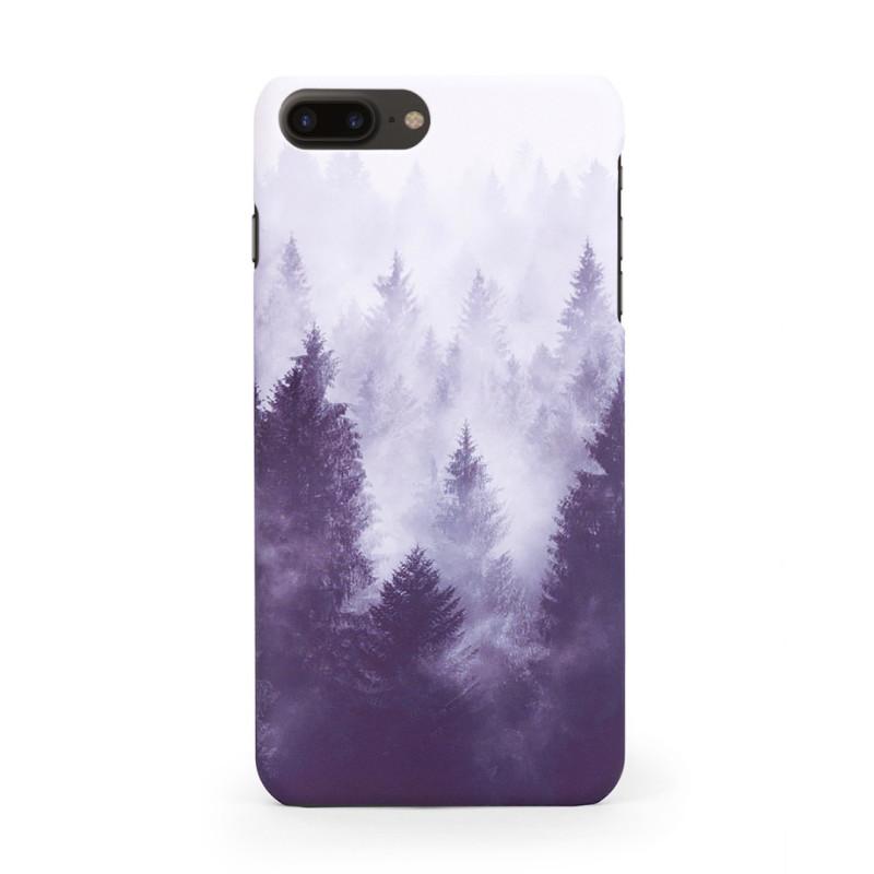 Твърд кейс/калъф в дизайн Foggy Forest за iPhone 8 Plus, Case, Уникален Дизайн