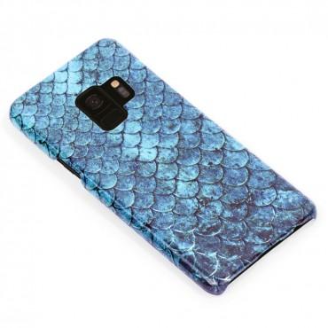 3D твърд кейс/калъф в дизайн Blue Mermaid за Samsung Galaxy S9, 3D гел покритие, Case