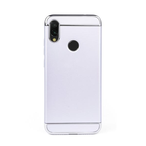 Луксозен кейс/калъф от 3 части за Xiaomi Redmi Note 7, Case, Твърд, Сребрист