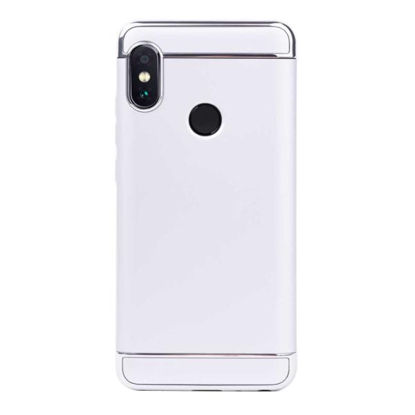 Луксозен кейс/калъф от 3 части за Xiaomi Redmi Note 5, Case, Твърд, Сребрист