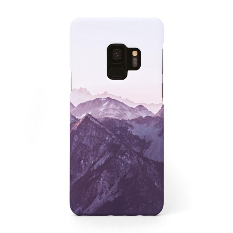 Tвърд кейс/калъф в дизайн Mountan Range за Samsung Galaxy S9, Case, Уникален Дизайн