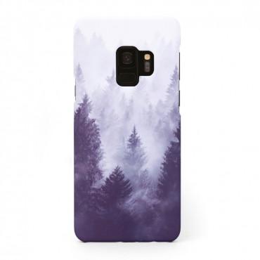 Твърд кейс/калъф в дизайн Foggy Forest за Samsung Galaxy S9, Case, Уникален Дизайн