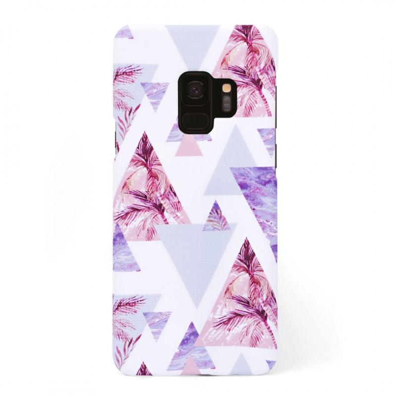 Луксозен кейс/калъф в дизайн Palm Paradise за Samsung Galaxy S9, Tвърд, Case