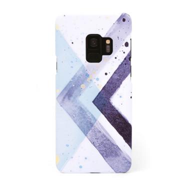 Твърд кейс/калъф в дизайн Colorful Triangles за Samsung Galaxy S9, Case, Уникален Дизайн