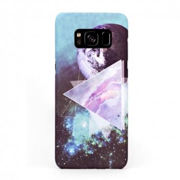 Луксозен твърд кейс/калъф в дизайн Galaxy за Samsung Galaxy S8, Case