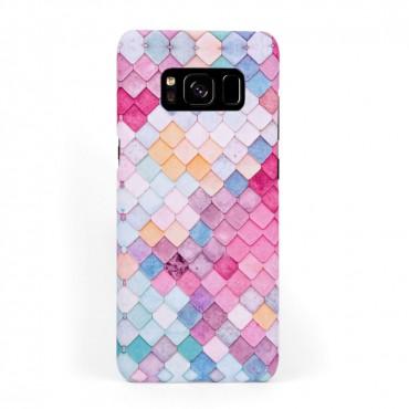 Твърд кейс/калъф в дизайн Colorful Scales за Samsung Galaxy S8, Case, Уникален Дизайн