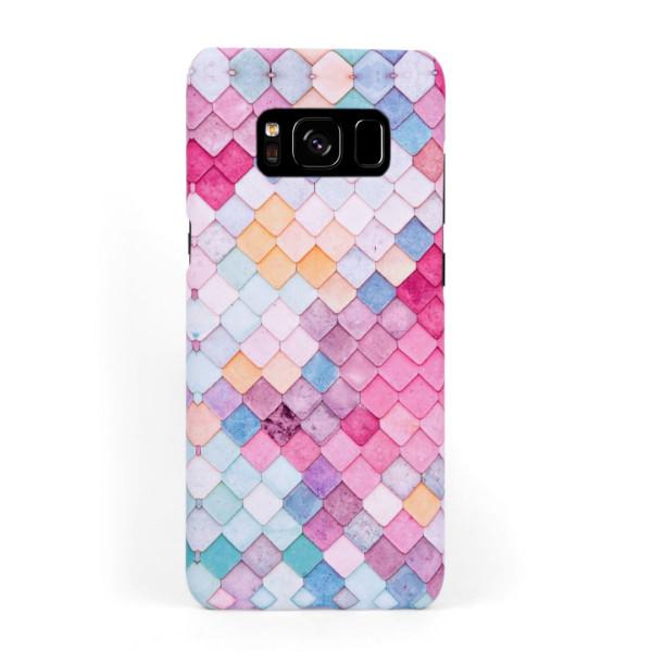 Твърд кейс/калъф в дизайн Colorful Scales за Samsung Galaxy S8 Plus, Case, Уникален Дизайн