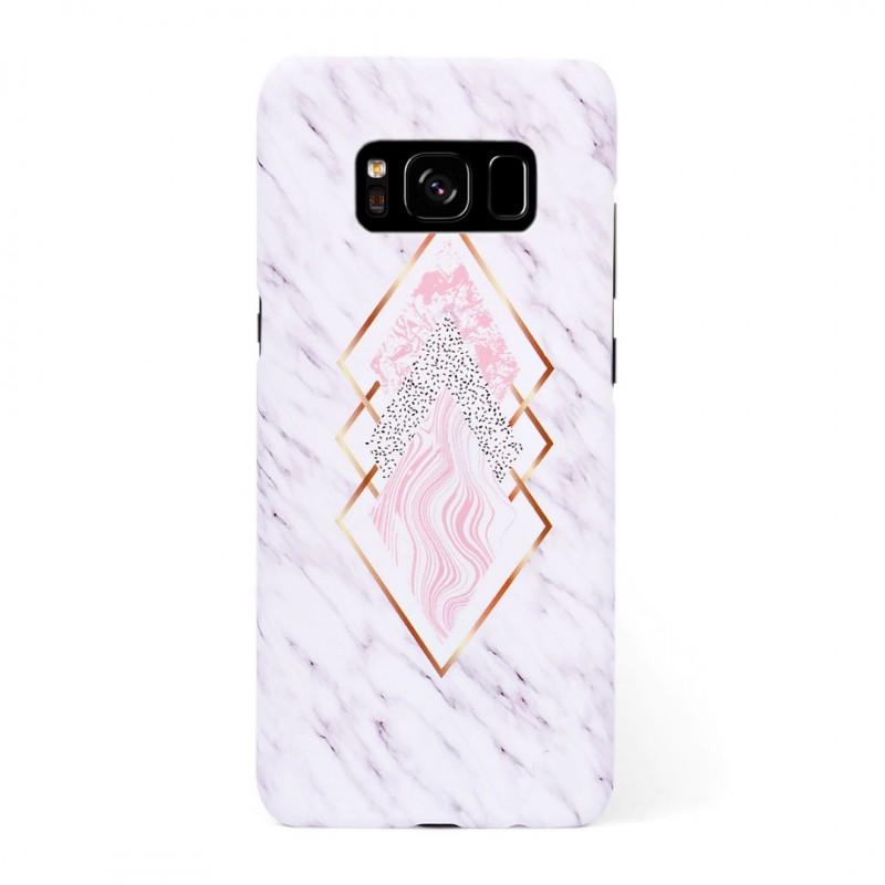Твърд кейс/калъф в дизайн Golden Rhomboids за Samsung Galaxy S8, Case, Уникален Дизайн