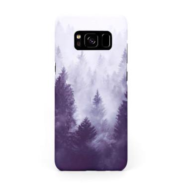 Твърд кейс/калъф в дизайн Foggy Forest за Samsung Galaxy S8, Case, Уникален Дизайн