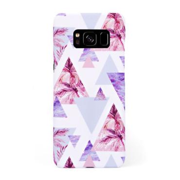 Луксозен кейс/калъф в дизайн Palm Paradise за Samsung Galaxy S8, Tвърд, Case
