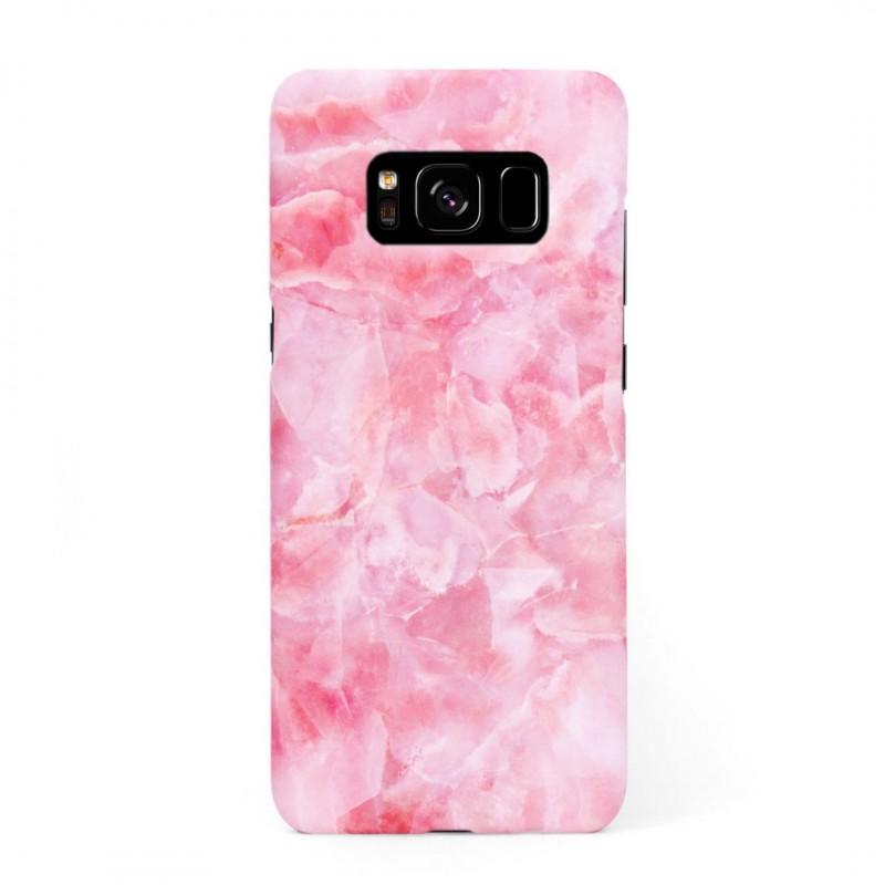 Твърд кейс/калъф в дизайн Pink Marble за Samsung Galaxy S8, Case, Уникален Дизайн