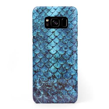 3D твърд кейс/калъф в дизайн Blue Mermaid за Samsung Galaxy S8, 3D гел покритие, Case