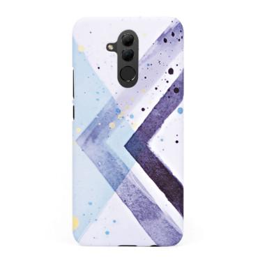 Твърд кейс/калъф в дизайн Colorful Triangles за Huawei Mate 20 Lite, Case, Уникален Дизайн